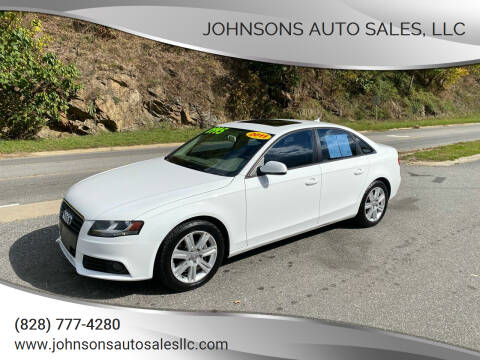 2011 Audi A4 for sale at Johnsons Auto Sales, LLC in Marshall NC