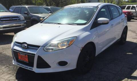 2013 Ford Focus for sale at Knowlton Motors, Inc. in Freeport IL