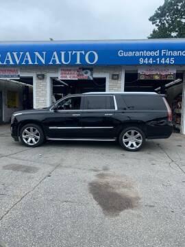 2015 Cadillac Escalade ESV for sale at Caravan Auto in Cranston RI