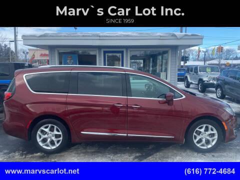 2017 Chrysler Pacifica for sale at Marv`s Car Lot Inc. in Zeeland MI