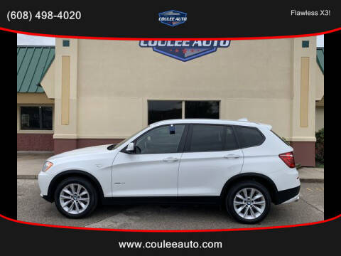 2014 BMW X3 for sale at Coulee Auto in La Crosse WI
