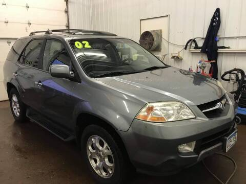2002 Acura MDX for sale at WB Auto Sales LLC in Barnum MN
