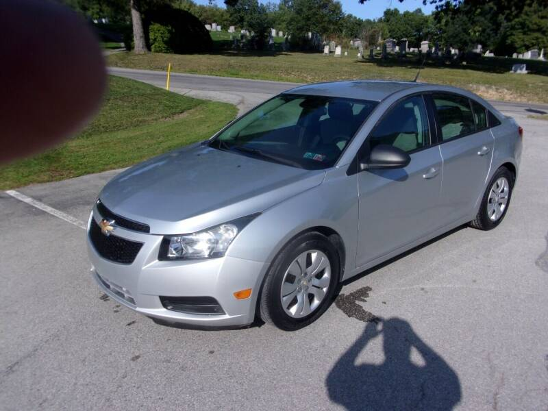 2014 Chevrolet Cruze for sale at Pyles Auto Sales in Kittanning PA