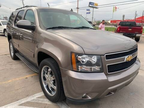 2013 Chevrolet Tahoe for sale at JAVY AUTO SALES in Houston TX
