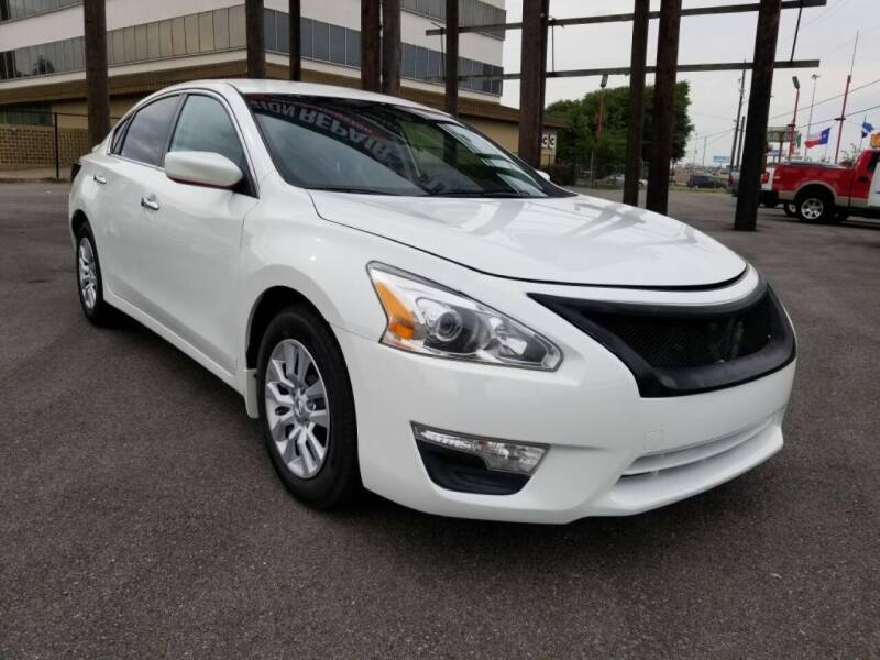 2015 Nissan Altima for sale at JAVY AUTO SALES in Houston TX