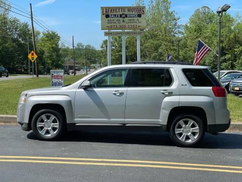 2013 GMC Terrain for sale at Lafayette Motors 2 in Andover NJ