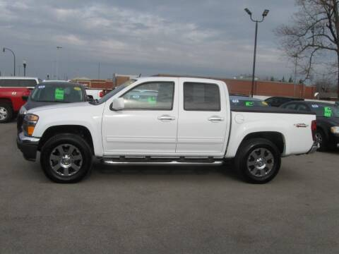 2012 GMC Canyon for sale at MCQUISTON MOTORS in Wyandotte MI