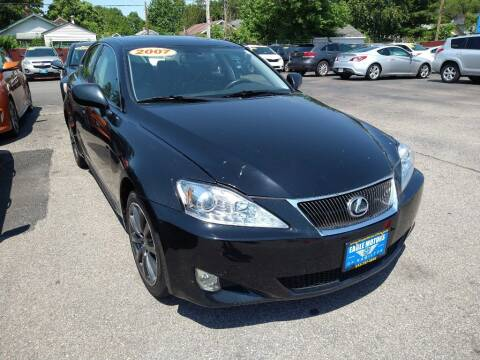 2007 Lexus IS 250 for sale at Eagle Motors in Hamilton OH