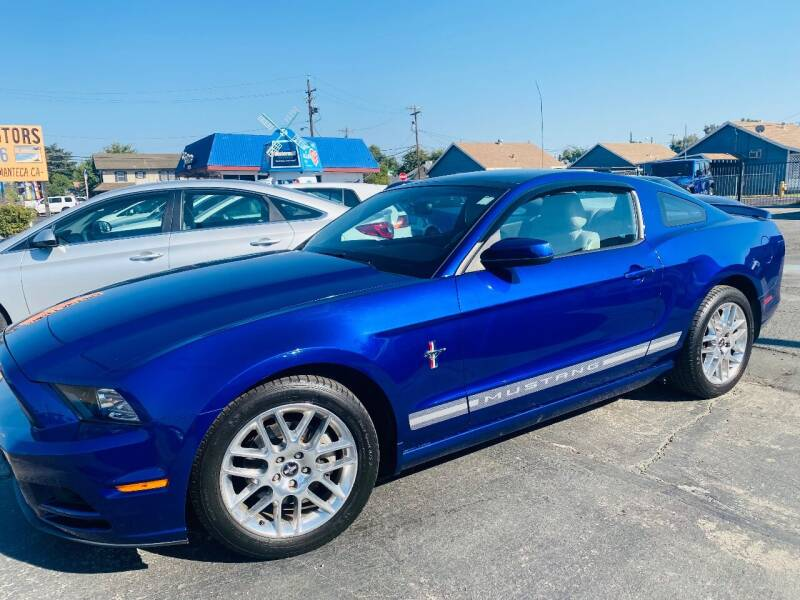 2014 Ford Mustang for sale at Sunset Motors in Manteca CA