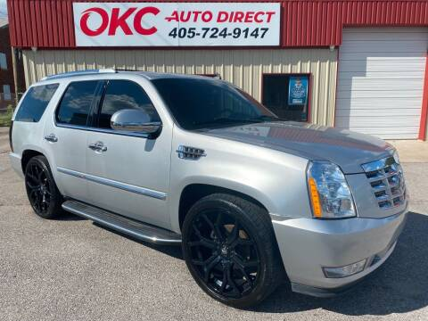 2013 Cadillac Escalade for sale at OKC Auto Direct in Oklahoma City OK