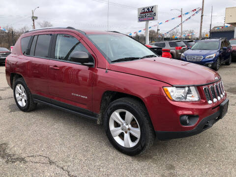 2012 Jeep Compass for sale at SKY AUTO SALES in Detroit MI