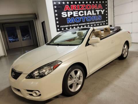 2007 Toyota Camry Solara for sale at Arizona Specialty Motors in Tempe AZ