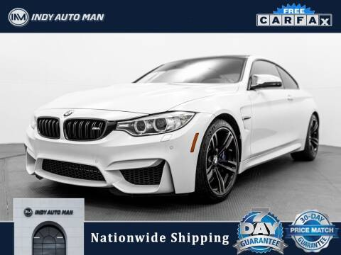 2016 BMW M4 for sale at INDY AUTO MAN in Indianapolis IN