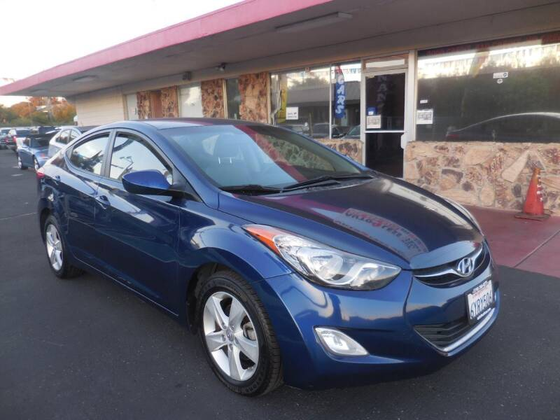 2013 Hyundai Elantra for sale at Auto 4 Less in Fremont CA