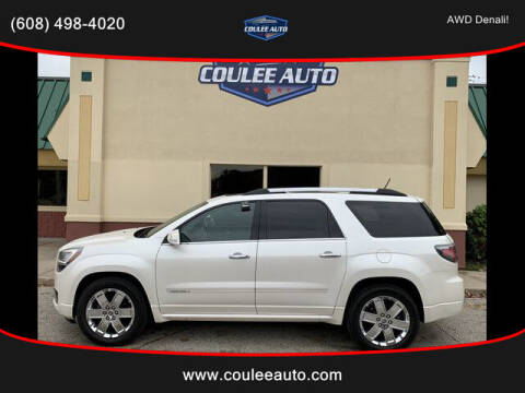 2013 GMC Acadia for sale at Coulee Auto in La Crosse WI