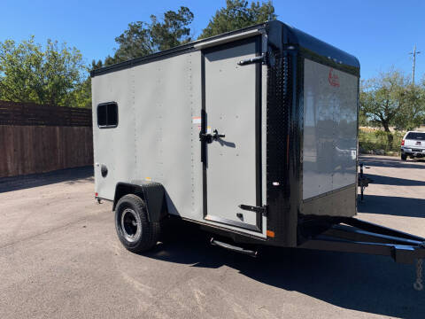 2021 CARGO CRAFT 6X12 OFF ROAD for sale at Trophy Trailers in New Braunfels TX