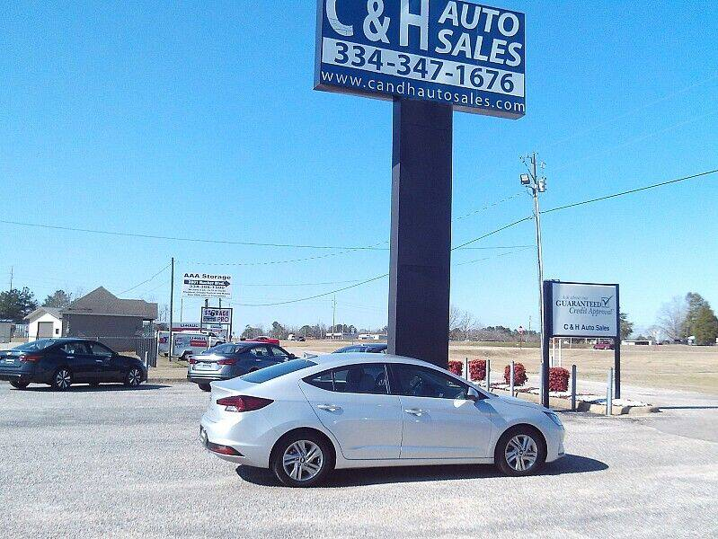 2020 Hyundai Elantra for sale at C & H AUTO SALES WITH RICARDO ZAMORA in Daleville AL