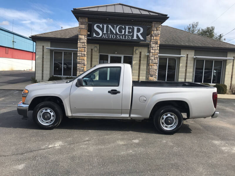 2007 Chevrolet Colorado for sale at Singer Auto Sales in Caldwell OH