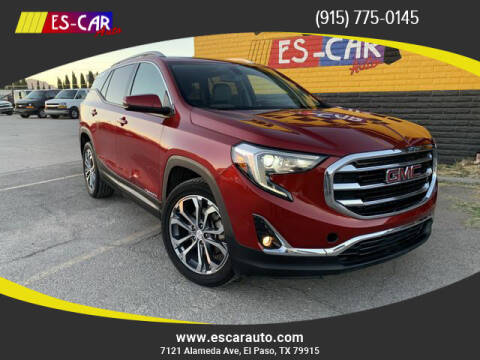 2018 GMC Terrain for sale at Escar Auto in El Paso TX