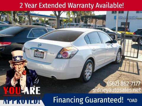 2010 Nissan Altima for sale at Sidney Auto Sales in Downey CA