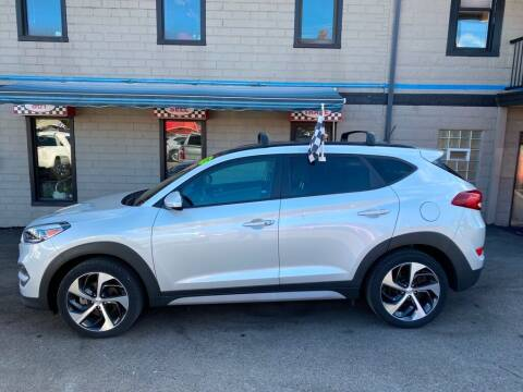 2017 Hyundai Tucson for sale at Sisson Pre-Owned in Uniontown PA