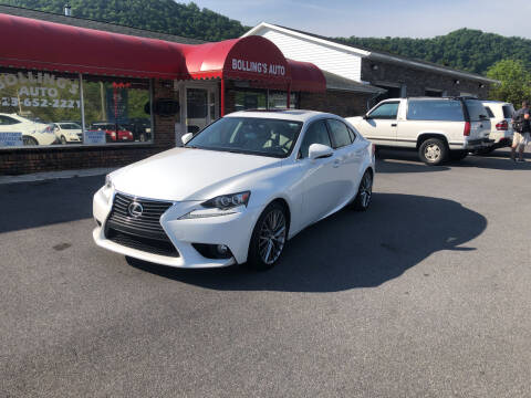 2014 Lexus IS 250 for sale at BOLLING'S AUTO in Bristol TN