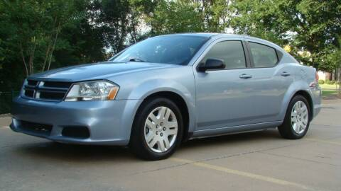 2013 Dodge Avenger for sale at Red Rock Auto LLC in Oklahoma City OK
