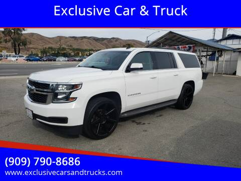 2015 Chevrolet Suburban for sale at Exclusive Car & Truck in Yucaipa CA