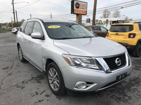 2016 Nissan Pathfinder for sale at Cars 4 Grab in Winchester VA