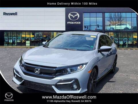 2021 Honda Civic for sale at Mazda Of Roswell in Roswell GA