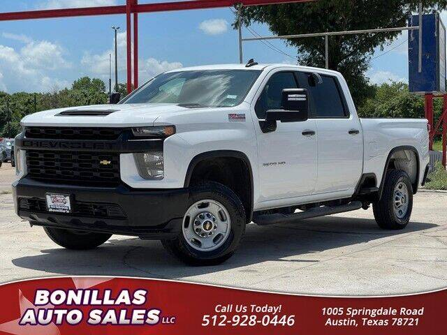 2020 Chevrolet Silverado 2500HD for sale at Bonillas Auto Sales in Austin TX