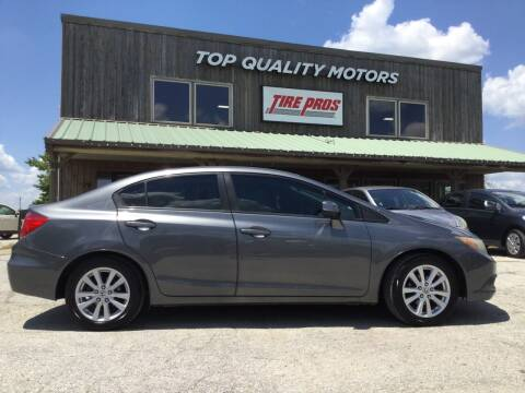 2012 Honda Civic for sale at Top Quality Motors & Tire Pros in Ashland MO