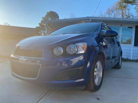 2012 Chevrolet Sonic for sale at Efficiency Auto Buyers in Milton GA
