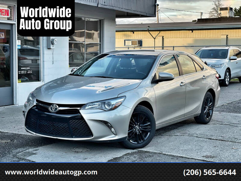 2016 Toyota Camry for sale at Worldwide Auto Group in Auburn WA