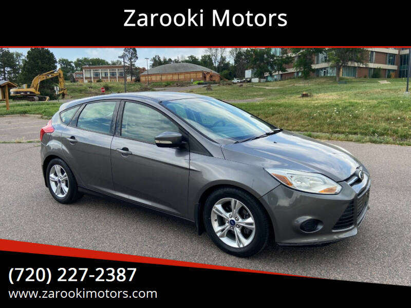 2014 Ford Focus for sale at Zarooki Motors in Englewood CO