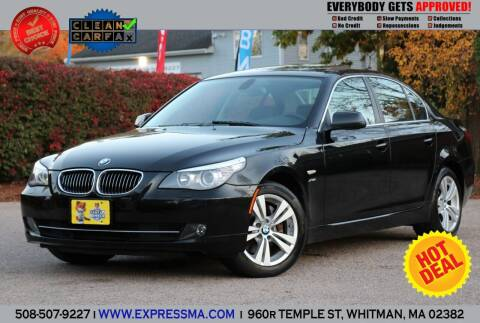 2010 BMW 5 Series for sale at Auto Sales Express in Whitman MA