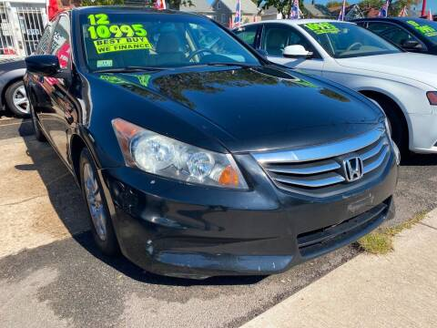 2012 Honda Accord for sale at GRAND USED CARS  INC in Little Ferry NJ