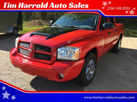 2006 Dodge Dakota for sale at Tim Harrold Auto Sales in Wilkesboro NC