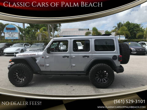2021 Jeep Wrangler Unlimited for sale at Classic Cars of Palm Beach in Jupiter FL