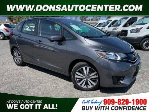 2016 Honda Fit for sale at Dons Auto Center in Fontana CA