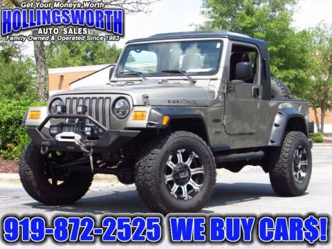 2005 Jeep Wrangler for sale at Hollingsworth Auto Sales in Raleigh NC