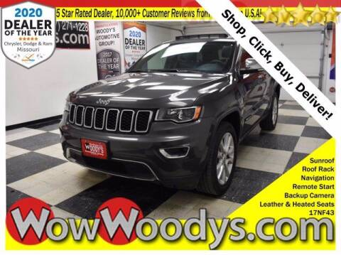 2017 Jeep Grand Cherokee for sale at WOODY'S AUTOMOTIVE GROUP in Chillicothe MO