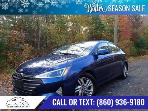 2019 Hyundai Elantra for sale at EAGLEVILLE MOTORS LLC in Storrs CT