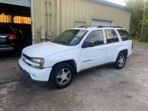 2004 Chevrolet TrailBlazer for sale at Sensible Choice Auto Sales, Inc. in Longwood FL