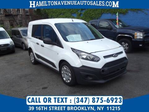 2016 Ford Transit Connect Cargo for sale at Hamilton Avenue Auto Sales in Brooklyn NY