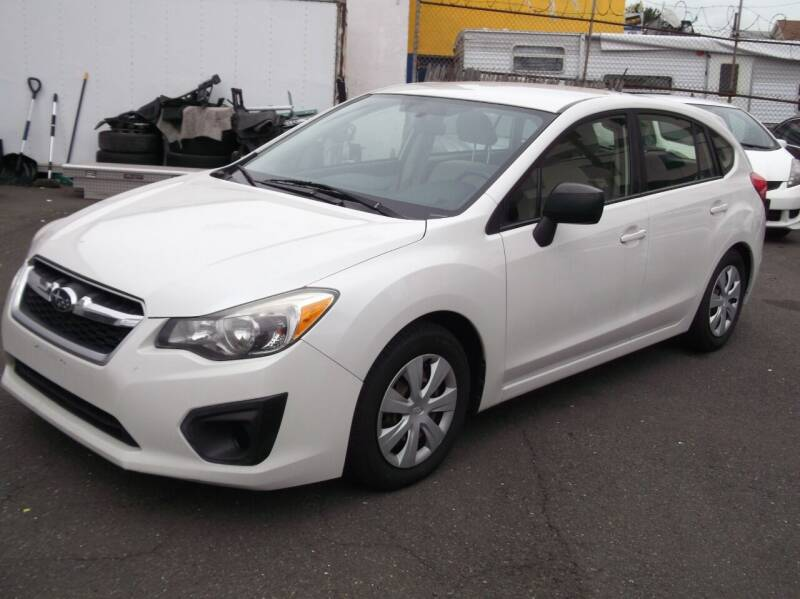 2013 Subaru Impreza for sale at Topchev Auto Sales in Elizabeth NJ