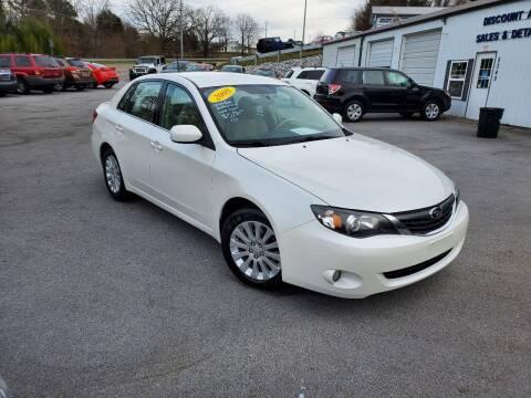 2008 Subaru Impreza for sale at DISCOUNT AUTO SALES in Johnson City TN