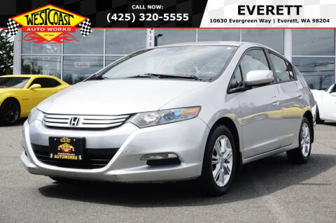 2011 Honda Insight for sale at West Coast Auto Works in Edmonds WA
