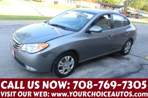 2010 Hyundai Elantra for sale at Your Choice Autos in Posen IL