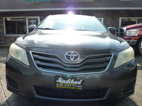 2011 Toyota Camry for sale at Sindibad Auto Sale, LLC in Englewood CO